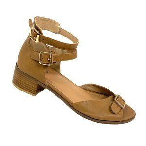 Torrid Nuback Ankle Strap Sandal